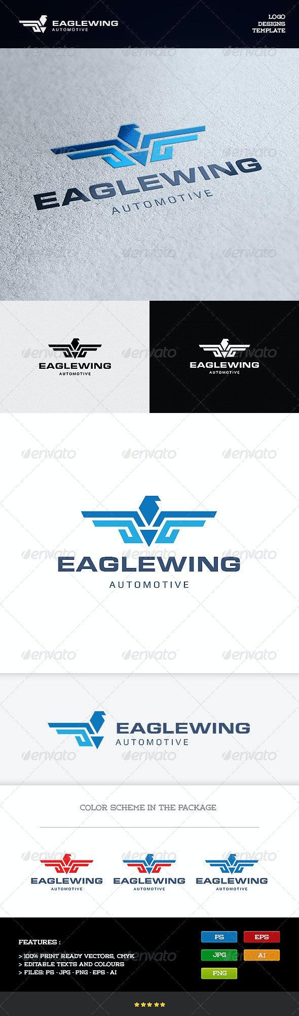 Eagle Wing - Animals Logo Templates