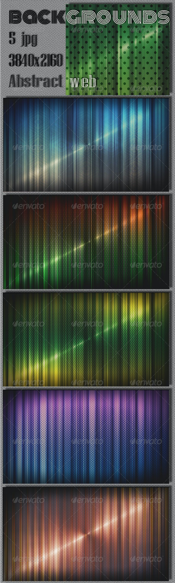 Colorful Techno Wall Backgrounds - Tech / Futuristic Backgrounds