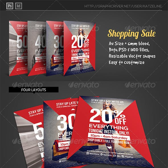 Shopping Mall Sale - Business Flyer