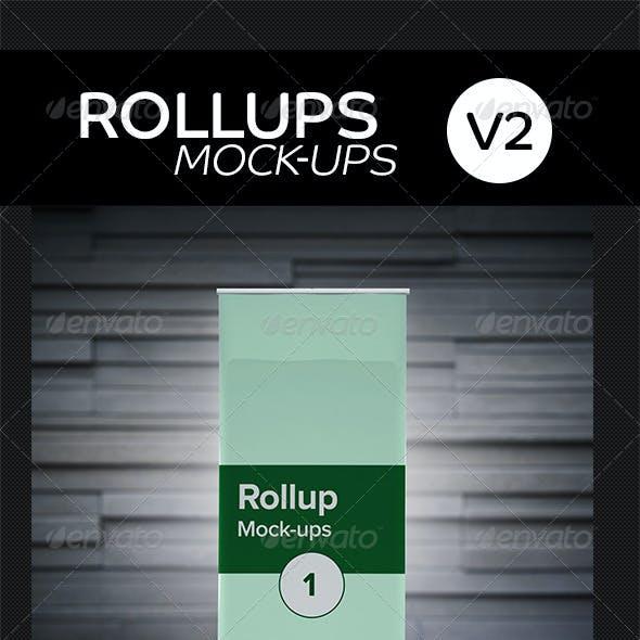 Roll ups Mock-ups V2