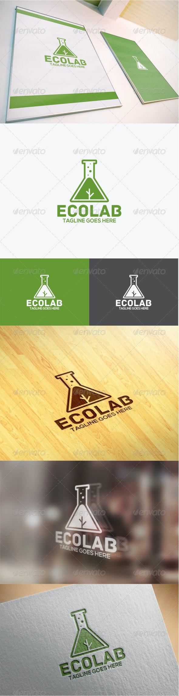 Eco Lab Logo - Symbols Logo Templates
