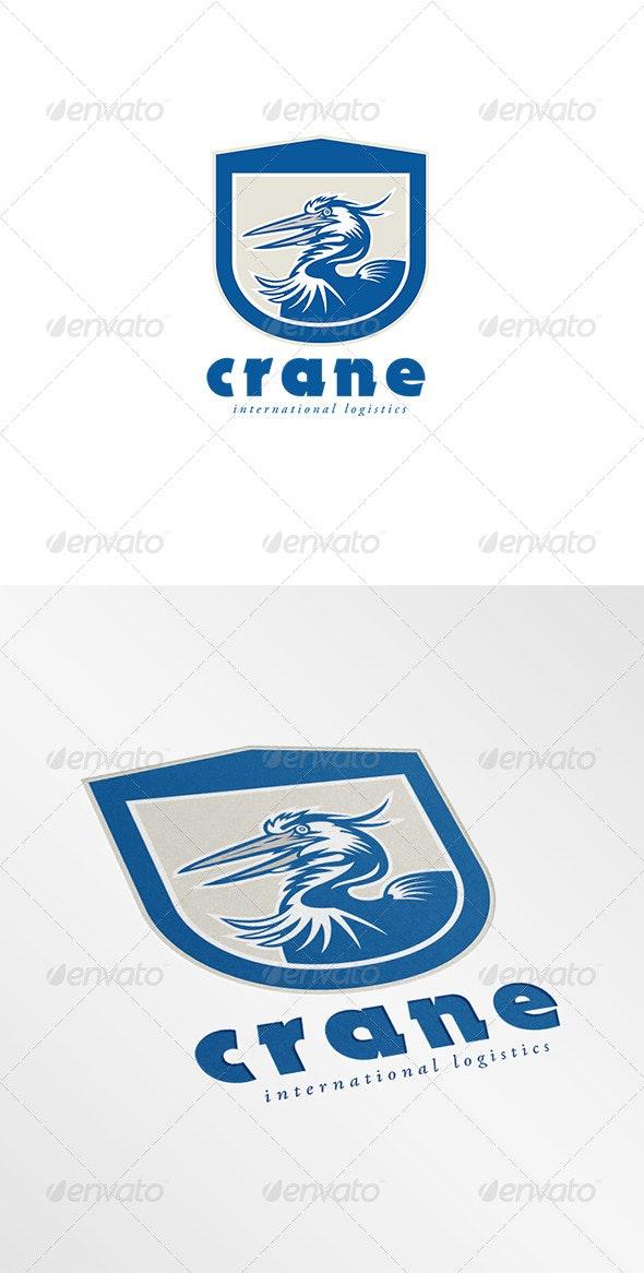 Crane International Logistics Logo - Animals Logo Templates