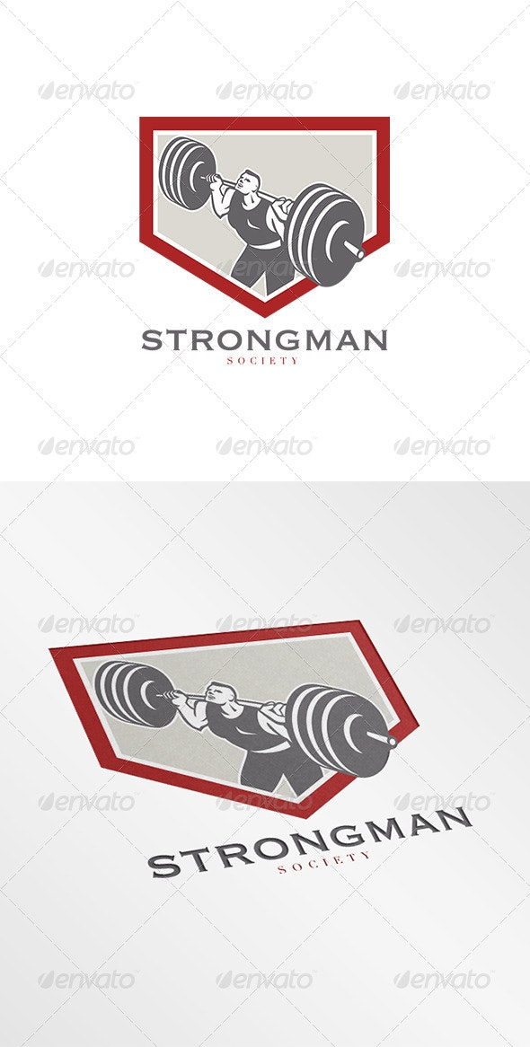 Strongman Society Logo - Humans Logo Templates