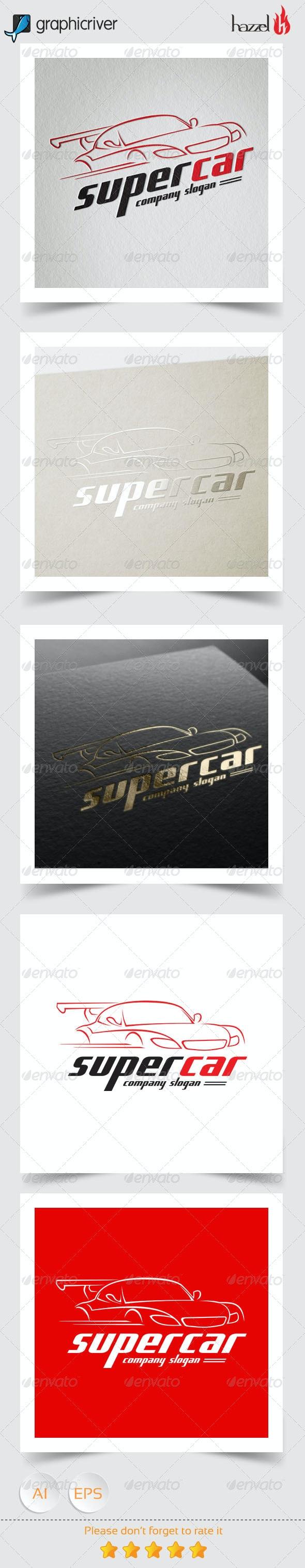 Super Car Logo - Objects Logo Templates