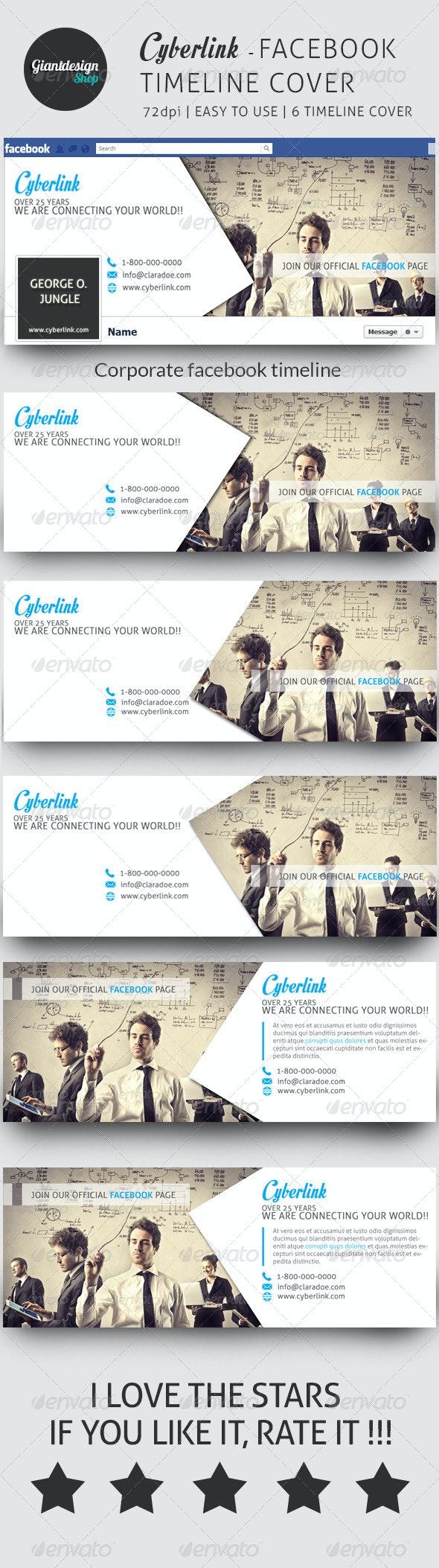 Cyberlink - Facebook Timeline Cover - Facebook Timeline Covers Social Media