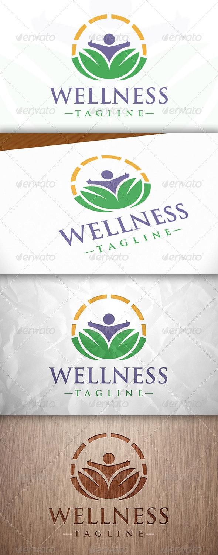 Wellness Logo Template - Humans Logo Templates