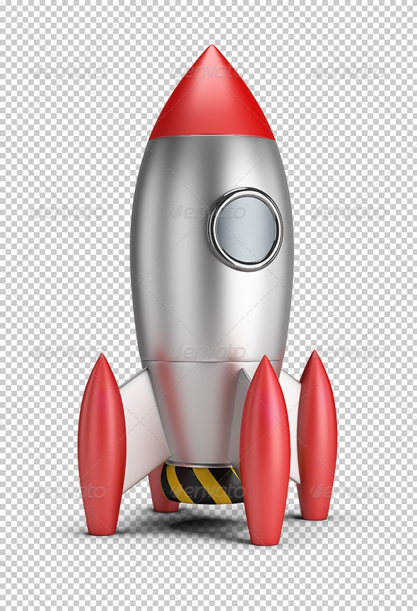 Rocket - Objects 3D Renders