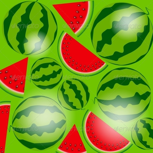 Background of Watermelon - Retail Commercial / Shopping