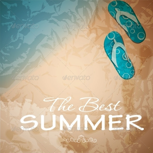 Summer Abstract Background - Retail Commercial / Shopping
