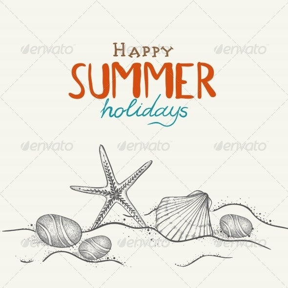 Summer Holidays Background - Travel Conceptual