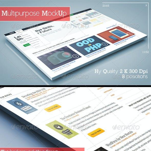 3D Multipurpose MockUp