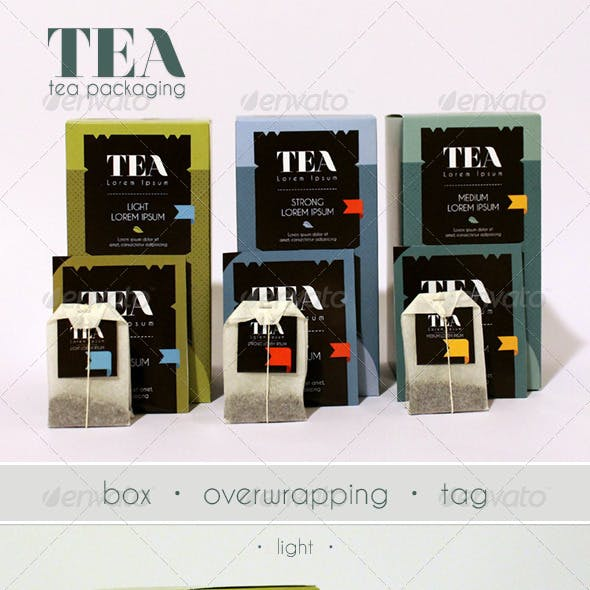 Modern Tea Packaging Design