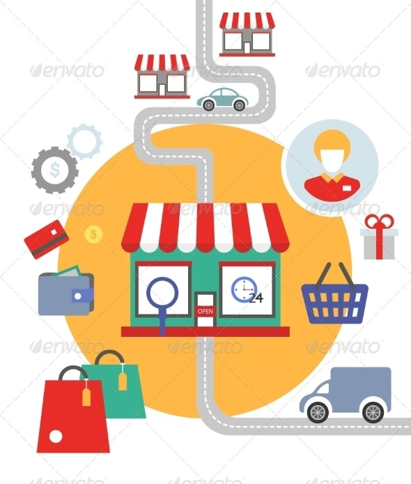 Shopping Concept - Retail Commercial / Shopping