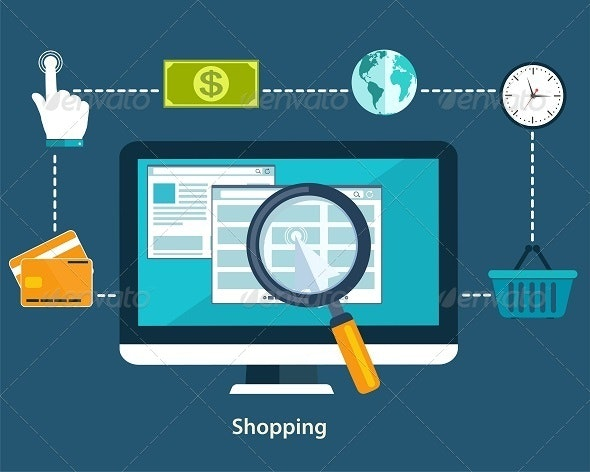 Concepts of Online Payment Methods  - Business Conceptual