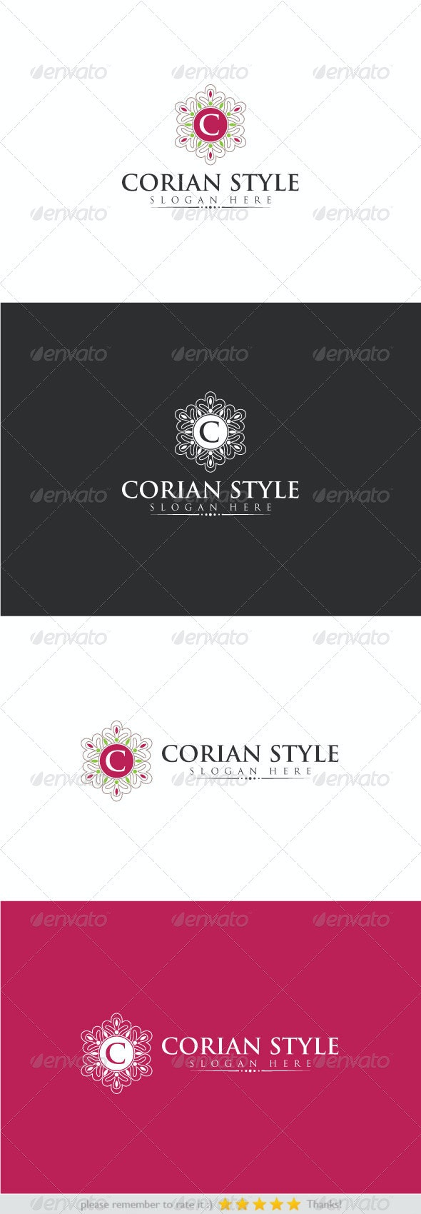 Corian Style - Crests Logo Templates
