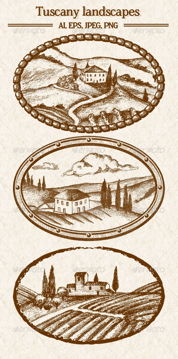 Tuscany Landscapes - Landscapes Nature
