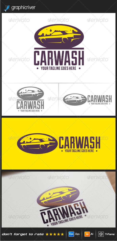Car Wash Logo Templates - Objects Logo Templates