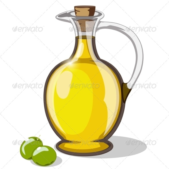 Olive Oil - Food Objects