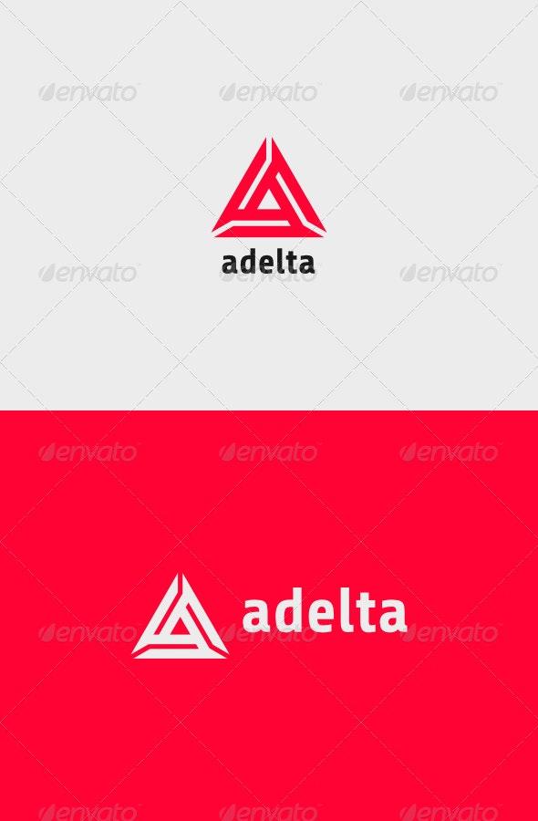 Adelta Logo - Vector Abstract