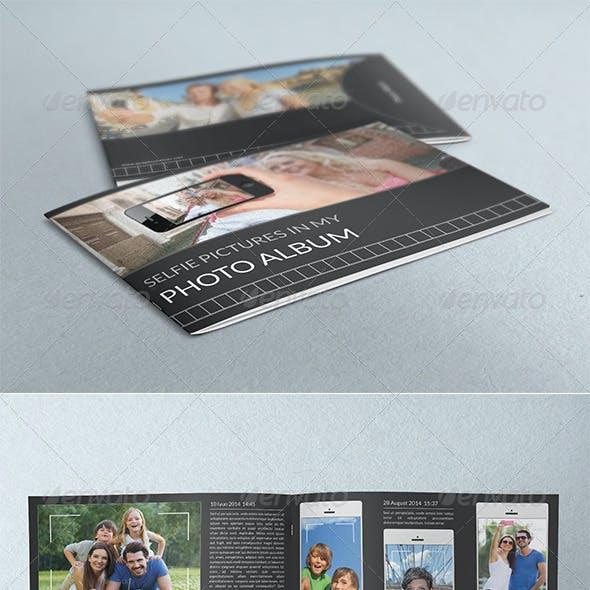 Selfie Photography Portfolio Album