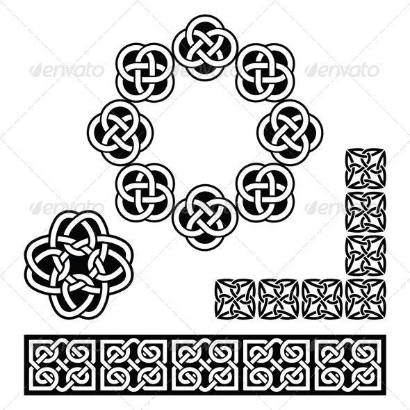 Celtic Design - Patterns, Knots and Braids - Patterns Decorative