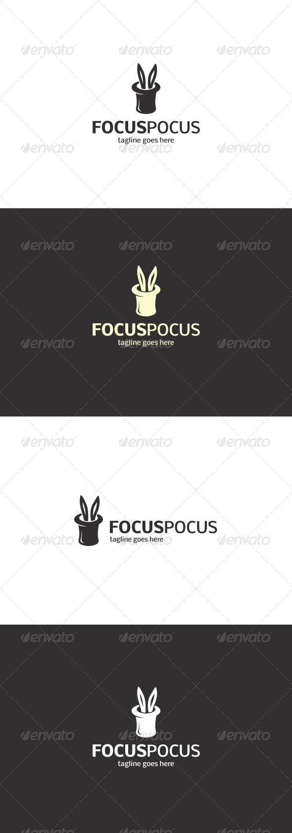Focus Pocus Logo - Animals Logo Templates
