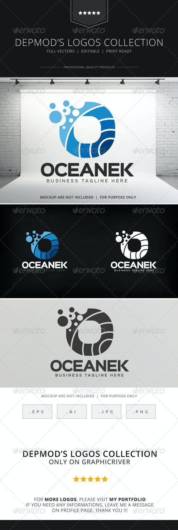 Oceanek Logo - Letters Logo Templates