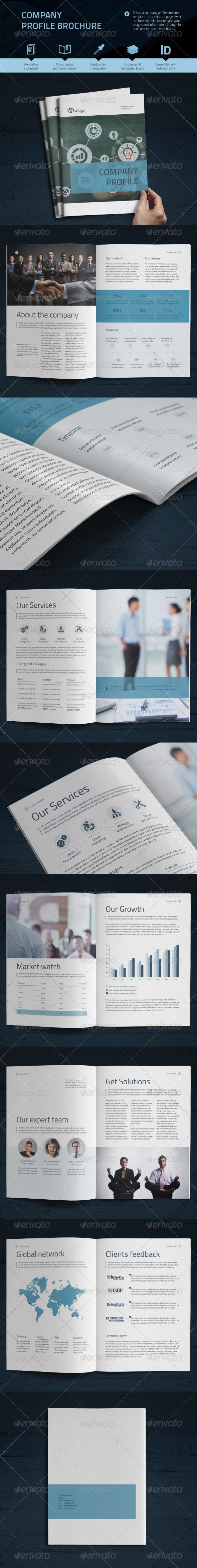 Company Profile Vol.2 - Informational Brochures
