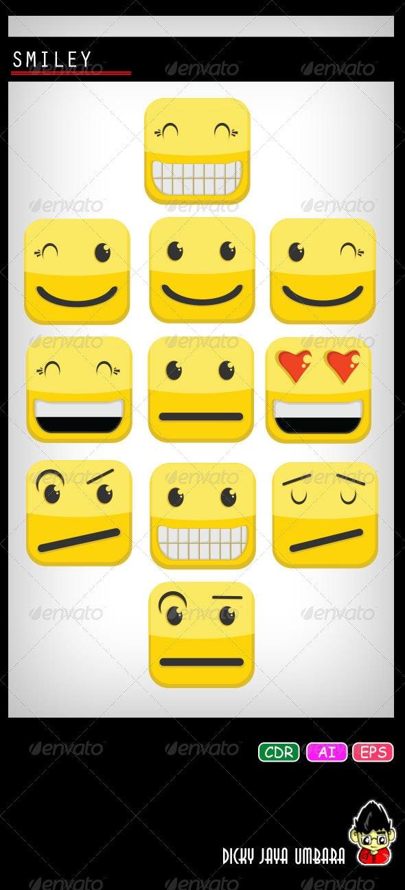 Smiley - People Characters