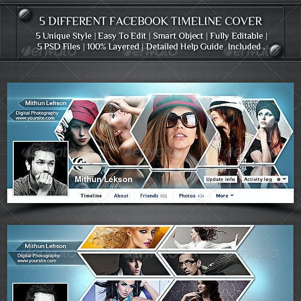 5 Different Facebook Timeline Cover