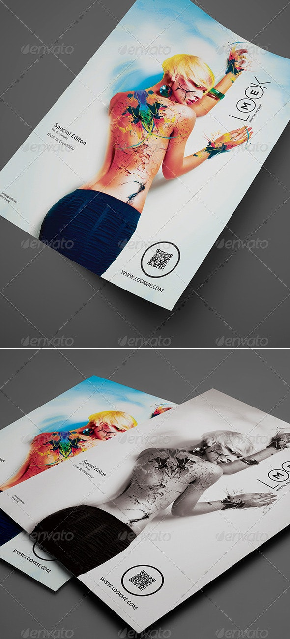 Artistic Flyer / Poster Vol. 01 - Events Flyers