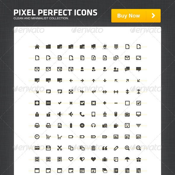 Pixel Perfect Icons