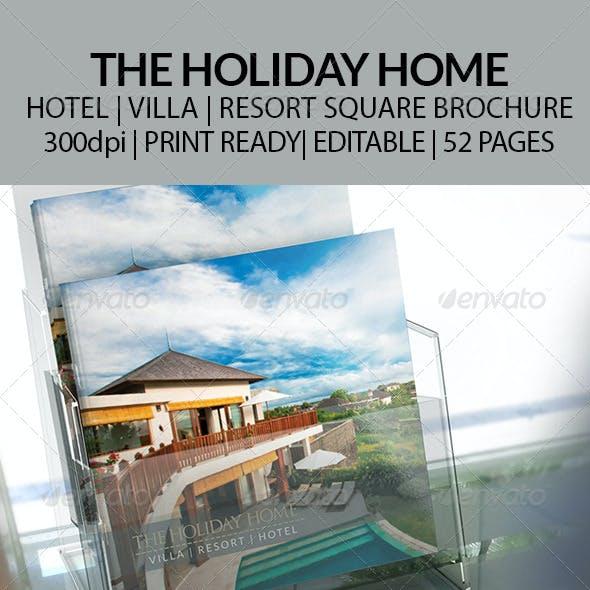 Hotel | Villa | Resort | - Square Brochure
