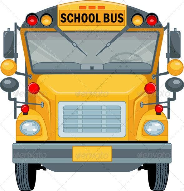 School Bus - Travel Conceptual