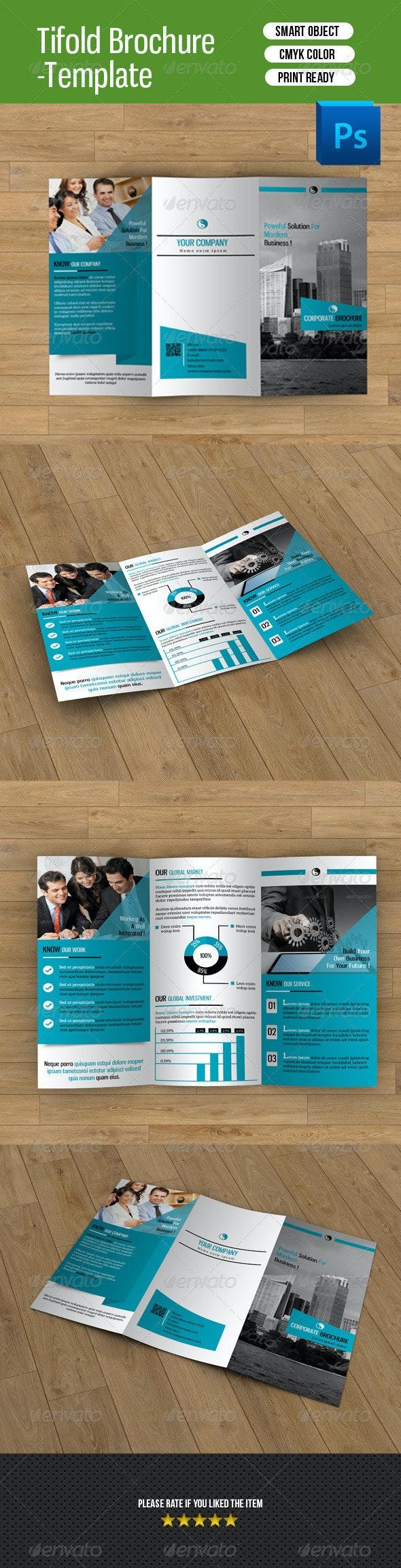 Trifold Business Brochure-V32 - Corporate Brochures
