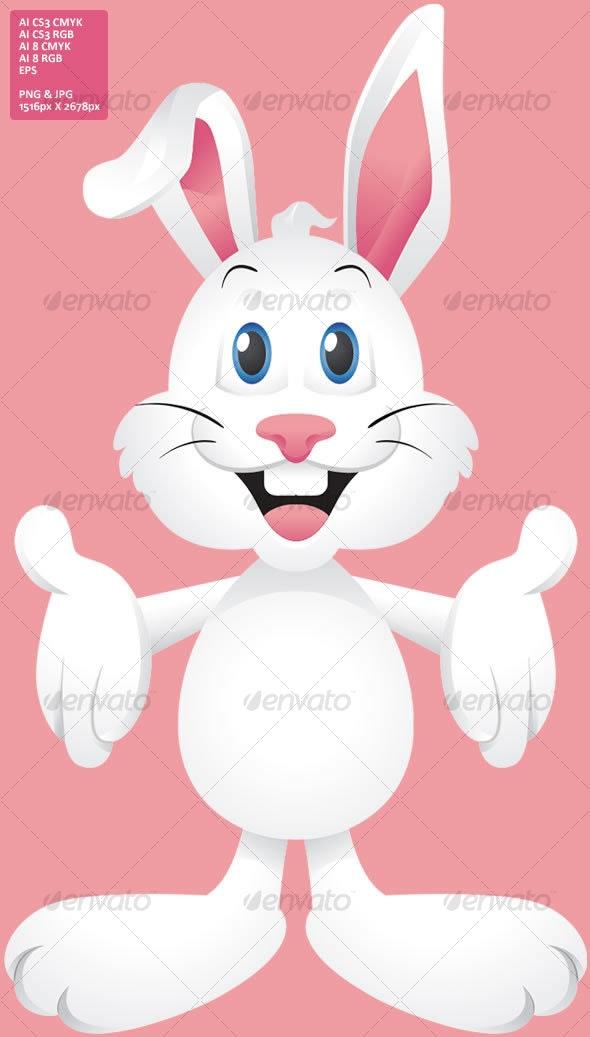 Easter Bunny Rabbit - Animals Characters