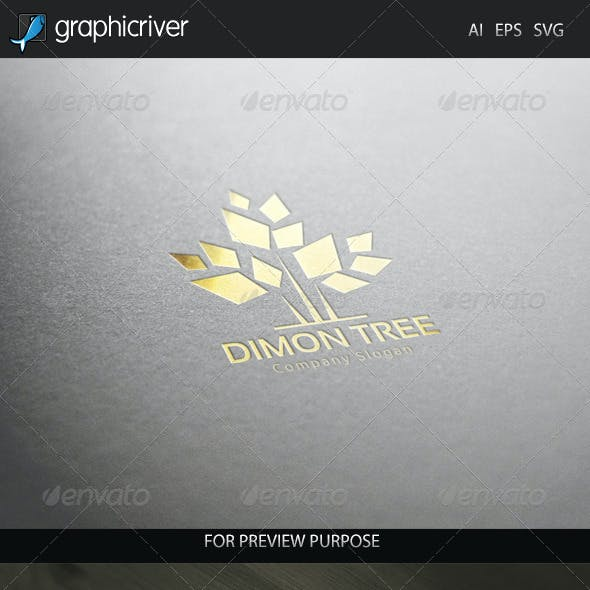 Dimon Tree Logo