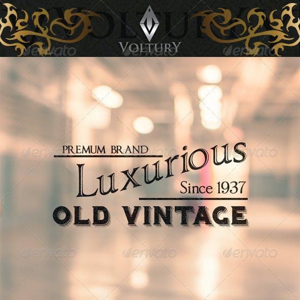 8 Brand Vintage Label Volume 2