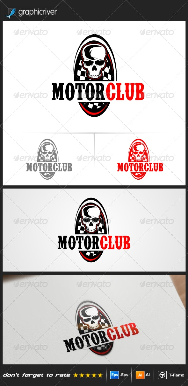 Motor Club Logo Templates - Objects Logo Templates