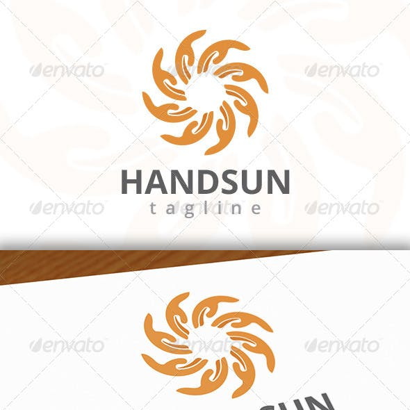 Sun Hand Logo
