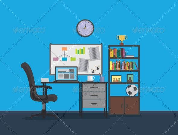 Flat Interior Design - Business Conceptual
