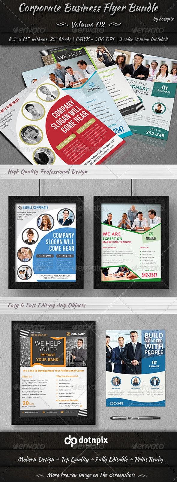 Corporate Business Flyer Bundle | Volume 2 - Corporate Flyers