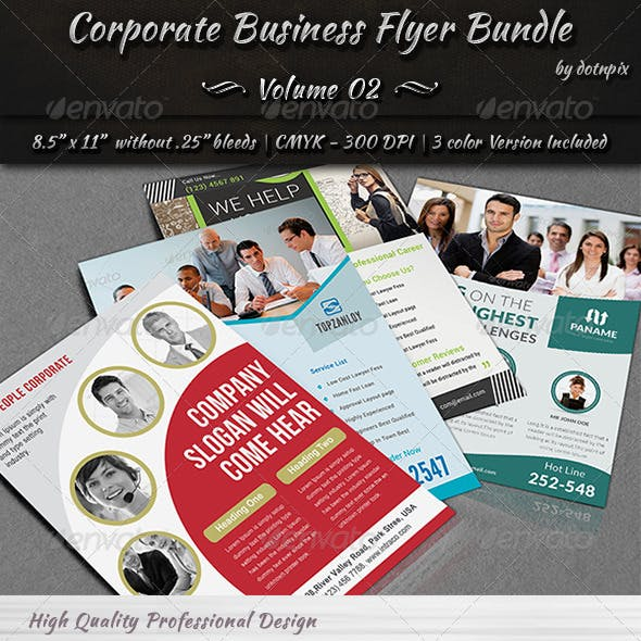 Corporate Business Flyer Bundle | Volume 2