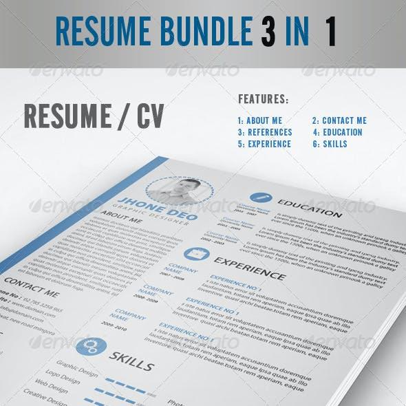 Resume Bundle 3 in 1