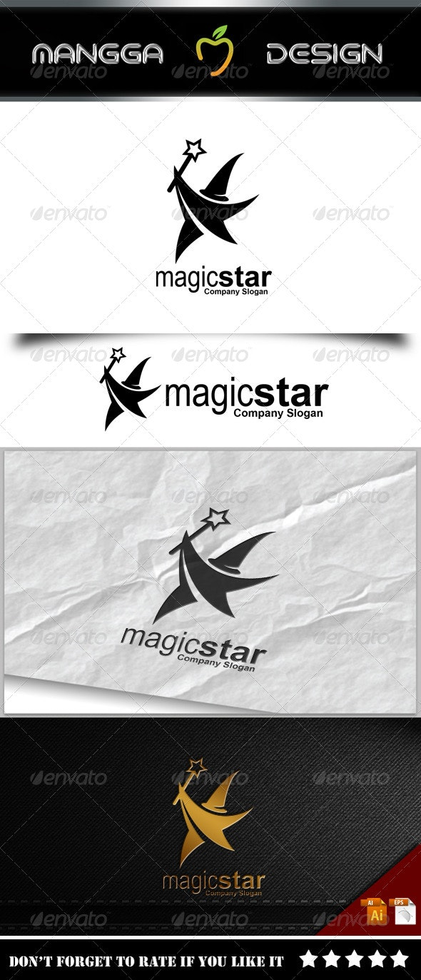 Magic Star Logo - Symbols Logo Templates