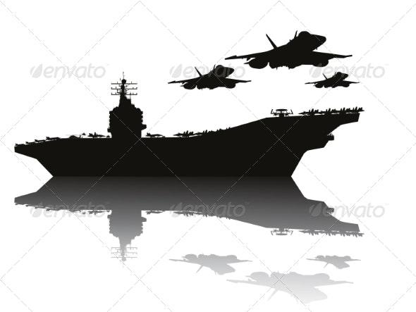 Navy Power - Travel Conceptual