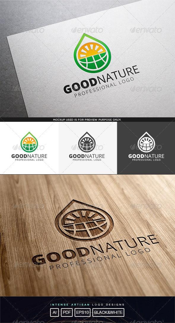Good Nature Logo Template - Nature Logo Templates