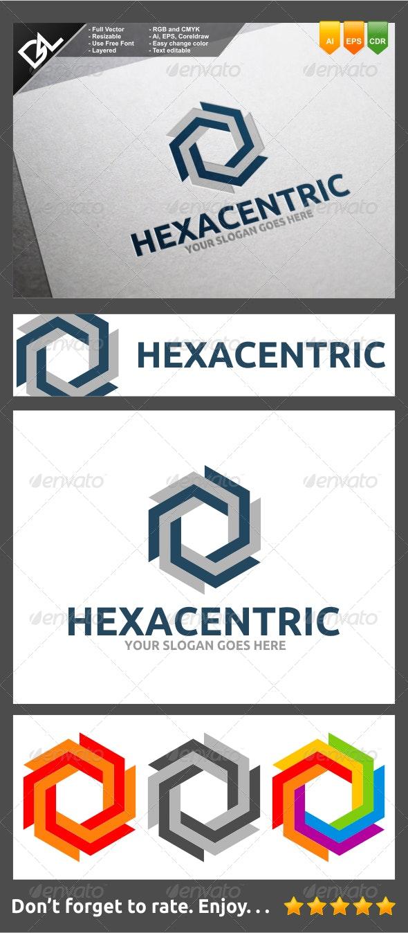 Hexacentric - Symbols Logo Templates