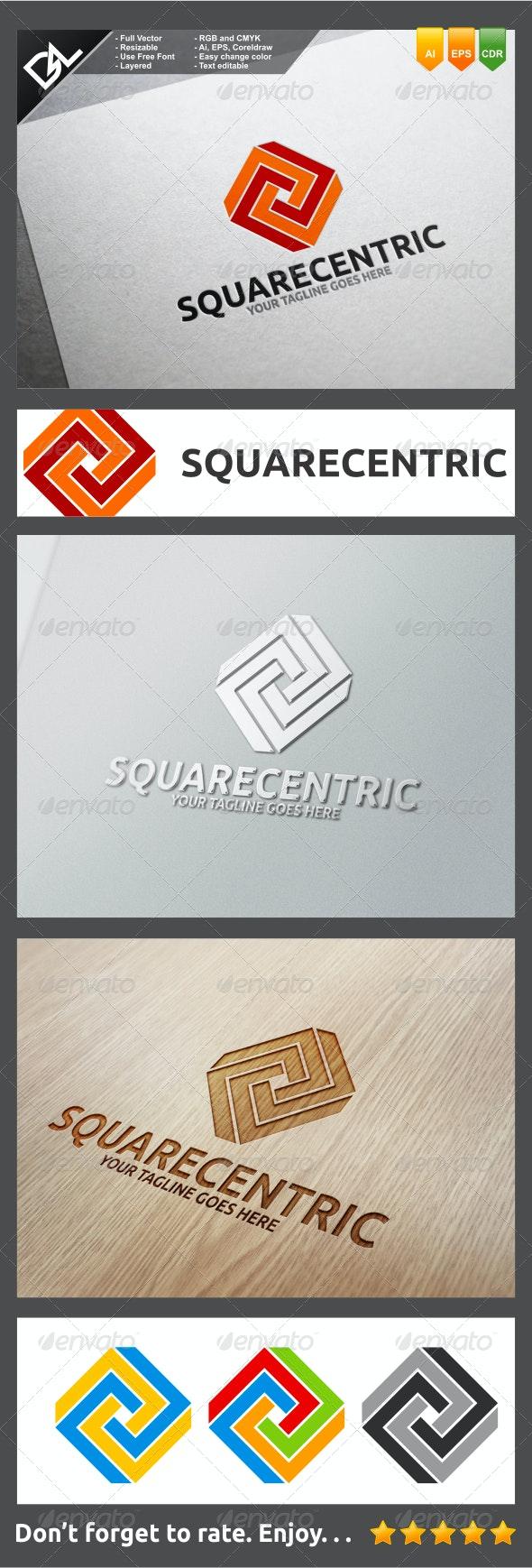 Squarecentric - Symbols Logo Templates