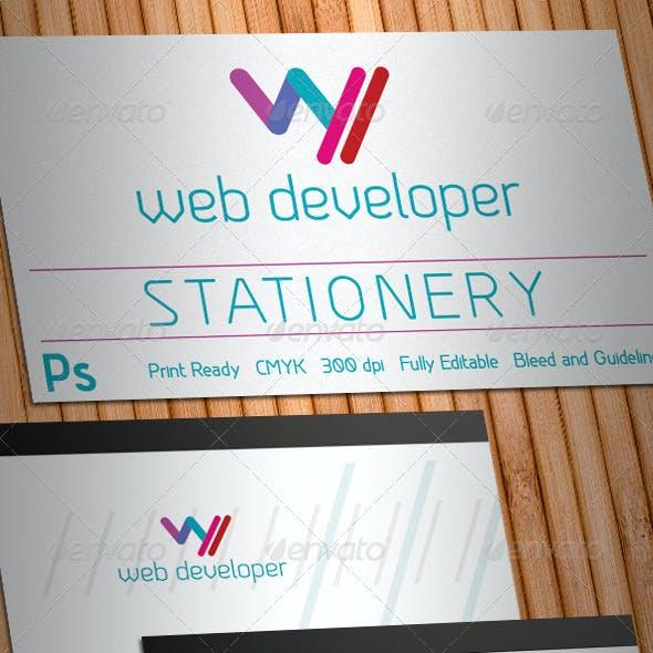 Web Developer Stationery